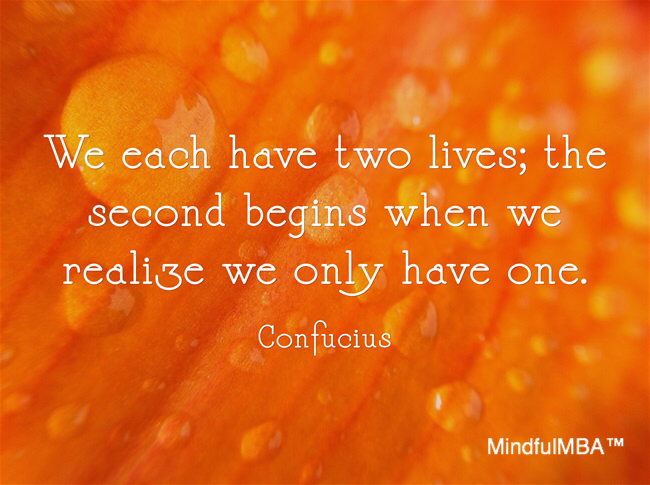 Confucius_Two Lives quote w tag