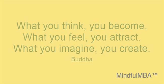Buddha_Think Feel quote w tag