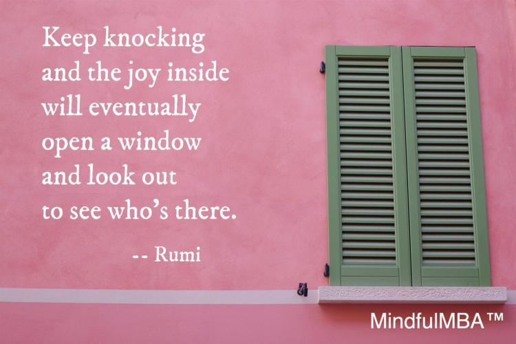 Rumi joy quote w tag