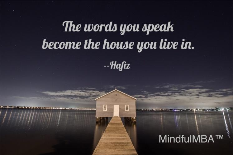 Word You Speak Hfazi quote w tag