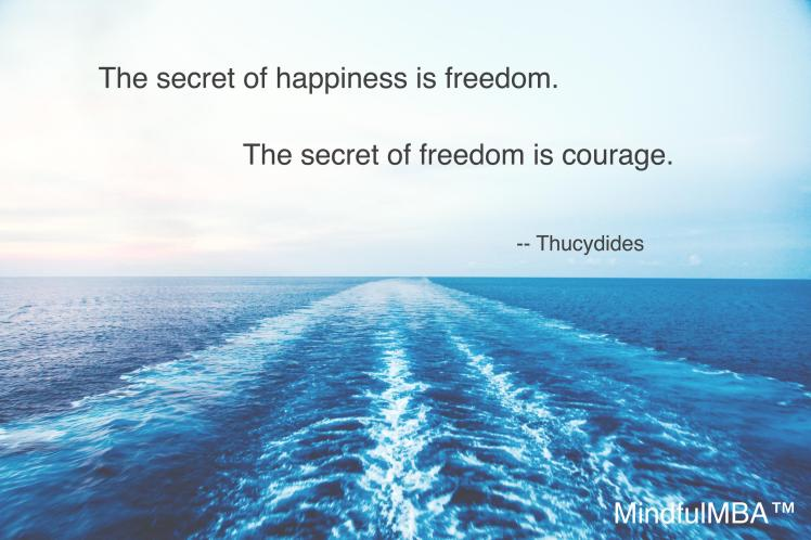 Thucydides Freedom quote w tag