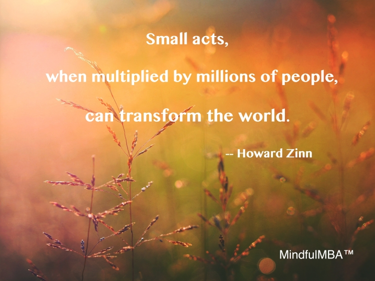 Zinn Small Acts quote w tag