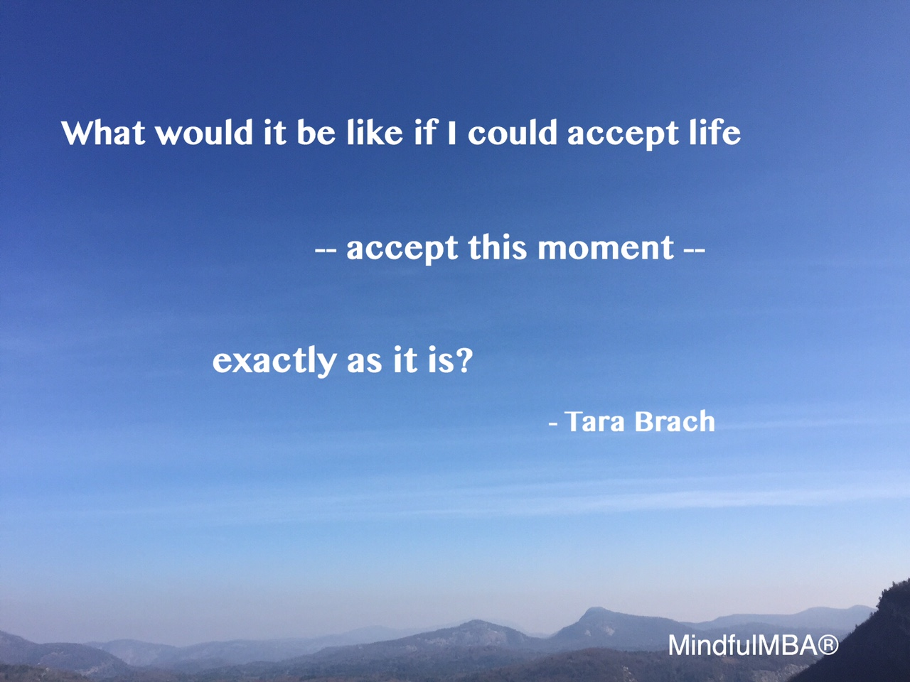Tara Brach Quotes Monday Moment What It Is  Mindfulmba
