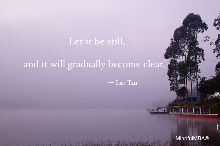 Lao Tzu still & clear quote w tag