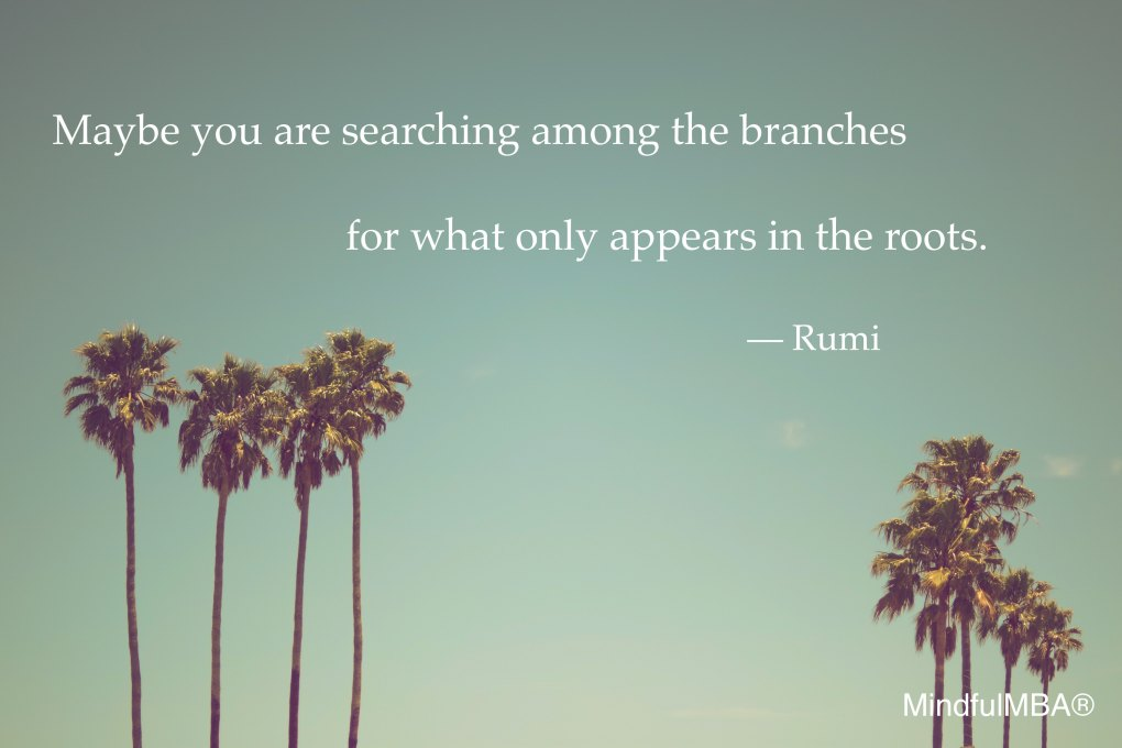 Rumi_Branches & Roots quote w tag