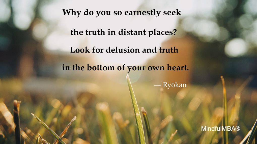 Ryokan truth heart quote w tag