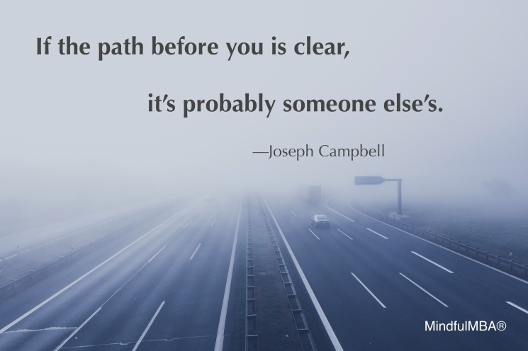 J Campbell Clear Path quote w tag_Marcus Spiske
