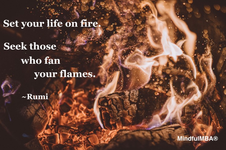 Rumi_set life fire quote w tag