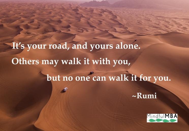 Rumi_Your Road quote w logo