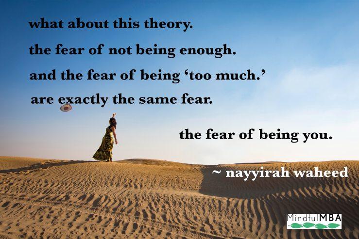 N waheed_fear of being you