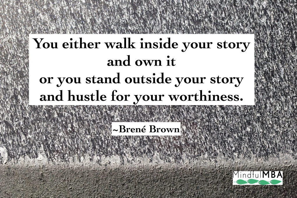 Brene Brown_Story quote w logo